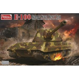 AMUSING HOBBY: 1/35; German Super Heavy Tank E100
