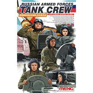 MENG MODEL: 1/35 Russian Armed Forces Tank Crew