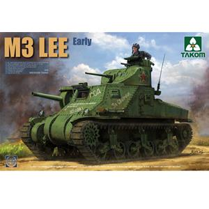 TAKOM MODEL: 1/35; US MEDIUM TANK M3 LEE EARLY