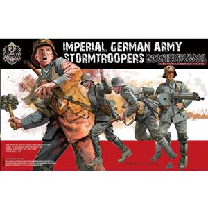 MENG MODEL: 1/35; set di figurini Imperial German Army Stormtroopers