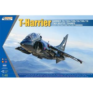 KINETIC: 1/48; T-Harrier Harrier T2/T2A/T2N/T4/T4M/T8 Two Seater Trainer