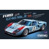 MENG MODEL: 1/12 Ford GT40 Mk.II - 1966